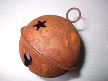 Rusty Tin Medium Jingle Bell 65mm